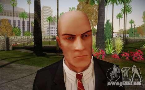 Hitman Blood Money Agent 47 para GTA San Andreas tercera pantalla