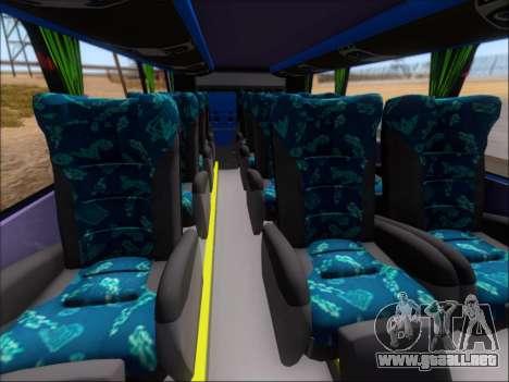 Marcopolo Paradiso G7 1800 DD Inter Sur para visión interna GTA San Andreas