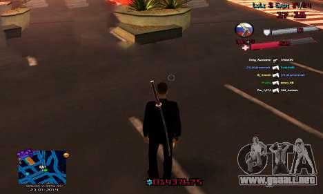 C-HUD by Accord para GTA San Andreas segunda pantalla