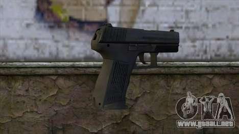 HK P2000 from CS:GO v1 para GTA San Andreas segunda pantalla