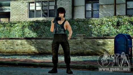 Rambo para GTA 4 tercera pantalla