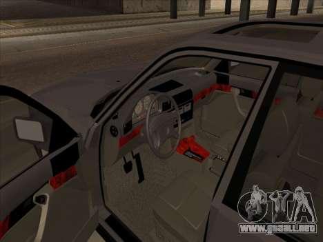 BMW 535i para GTA San Andreas vista hacia atrás