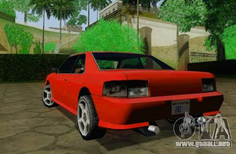 Sultan Coupe para la visión correcta GTA San Andreas