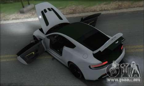Aston Martin V12 Vantage S 2013 para las ruedas de GTA San Andreas