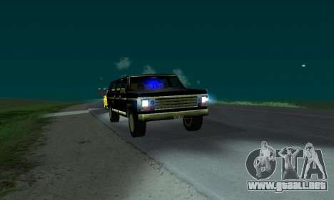New FBI Rancher para GTA San Andreas