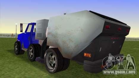 El nuevo camión de la basura Beta para GTA Vice City left