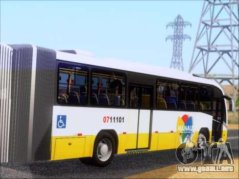 Neobus Mega BRT Volvo B12M-340M para la visión correcta GTA San Andreas