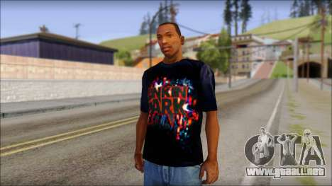 Linkin Park T-Shirt para GTA San Andreas