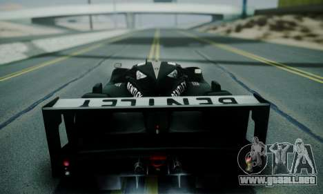 Bentley Speed 8 2003 para GTA San Andreas vista hacia atrás