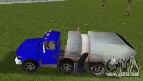 El nuevo camión de la basura Beta para GTA Vice City vista lateral izquierdo