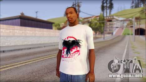 Rise Against T-Shirt V2.1 para GTA San Andreas