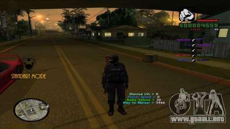 Indicators para GTA San Andreas segunda pantalla