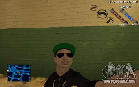 C-HUD by SampHack v.6 para GTA San Andreas