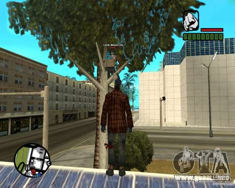 Players Informer para GTA San Andreas tercera pantalla