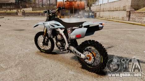 Yamaha YZF-450 v1.1 para GTA 4 left