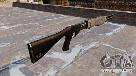 La escopeta Franchi SPAS-12 ACU Camouflage para GTA 4 segundos de pantalla