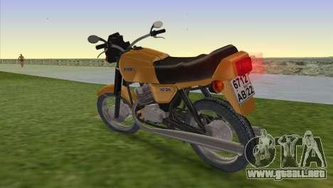 Jawa 638 para GTA Vice City left