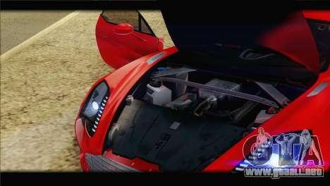 Aston Martin One-77 2010 para las ruedas de GTA San Andreas