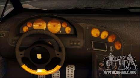 Pegassi Zentorno from GTA 5 v3 para visión interna GTA San Andreas