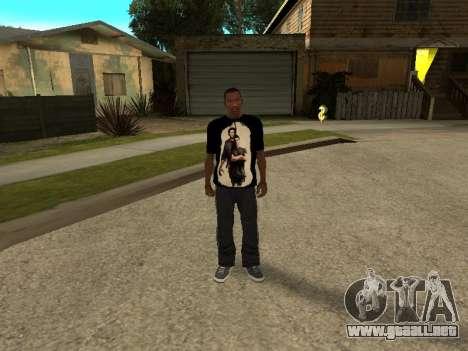 T-Shirt Sobrenatural para GTA San Andreas tercera pantalla