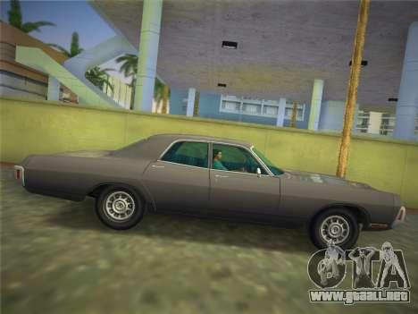 Dodge Polara 1971 para GTA Vice City visión correcta