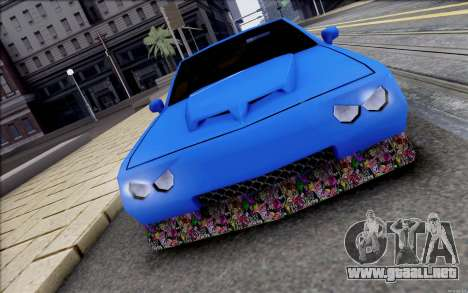 Buffalo Drift Style para GTA San Andreas left
