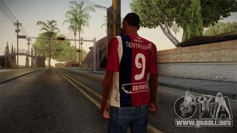 Talleres de Córdoba Camisa para GTA San Andreas segunda pantalla