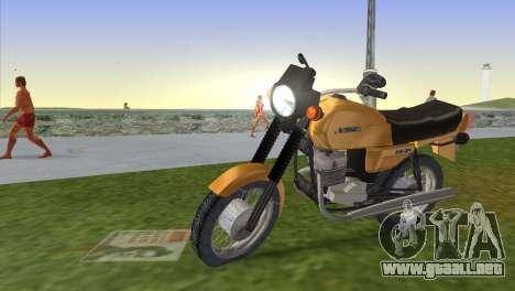Jawa 638 para GTA Vice City