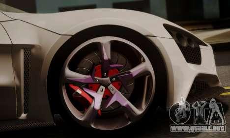 Zenvo ST SHDru Tuning para la visión correcta GTA San Andreas