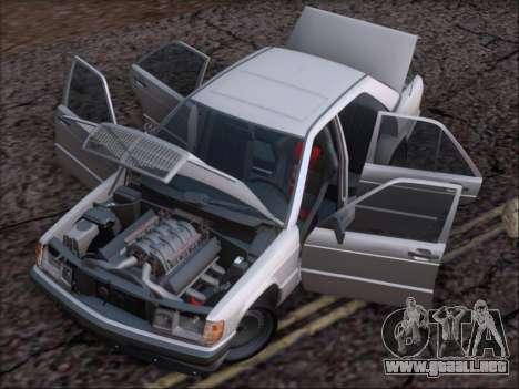 Mercedes Benz 190E Drift V8 para vista inferior GTA San Andreas