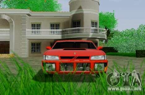 Sultan Coupe para GTA San Andreas vista hacia atrás