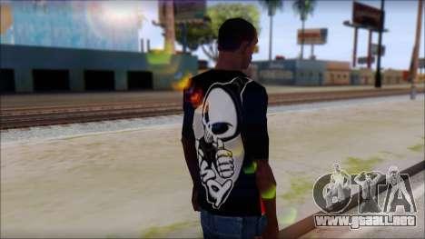 Blind Shirt para GTA San Andreas segunda pantalla