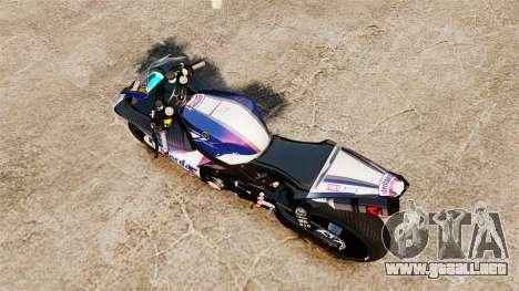 Yamaha YZF-R1 PJ2 para GTA 4 visión correcta