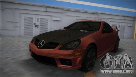 Mercedes-Benz SLK55 AMG Tuned para GTA Vice City