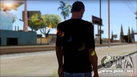 Boy Eagle T-Shirt para GTA San Andreas segunda pantalla
