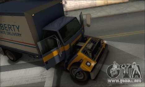 GTA IV Yankee para GTA San Andreas vista hacia atrás
