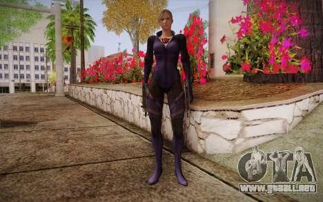 Jill Valentine from Resident Evil para GTA San Andreas