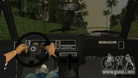 Fiat 131 Abarth Rally 1976 para GTA Vice City vista lateral izquierdo