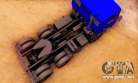 KamAZ 54112 FIV para visión interna GTA San Andreas