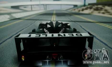 Bentley Speed 8 2003 para visión interna GTA San Andreas