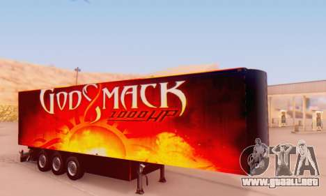 Godsmack - 1000hp Trailer 2014 para GTA San Andreas
