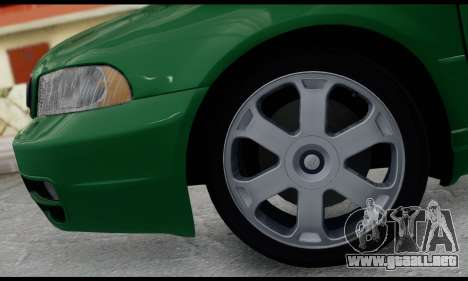 Audi S4 2000 para GTA San Andreas vista hacia atrás
