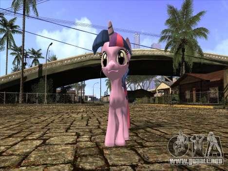 Twilight Sparkle para GTA San Andreas