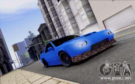 Buffalo Drift Style para visión interna GTA San Andreas