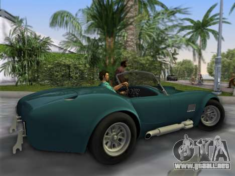 Shelby Cobra para GTA Vice City left