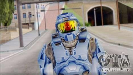 Masterchief Blue from Halo para GTA San Andreas