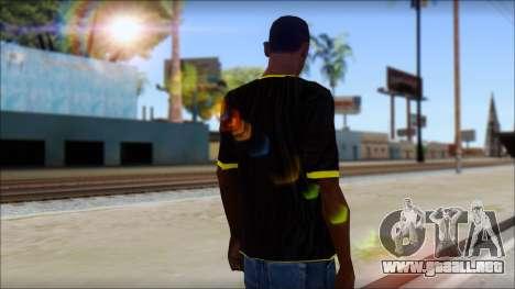 Harley Davidson T-Shirt para GTA San Andreas segunda pantalla