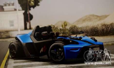 KTM X-Bow R 2011 para GTA San Andreas