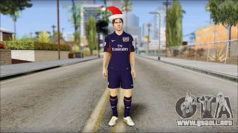 Messi Arsenal Christmas Special para GTA San Andreas