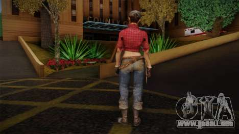 Misty from Call of Duty: Black Ops para GTA San Andreas segunda pantalla
